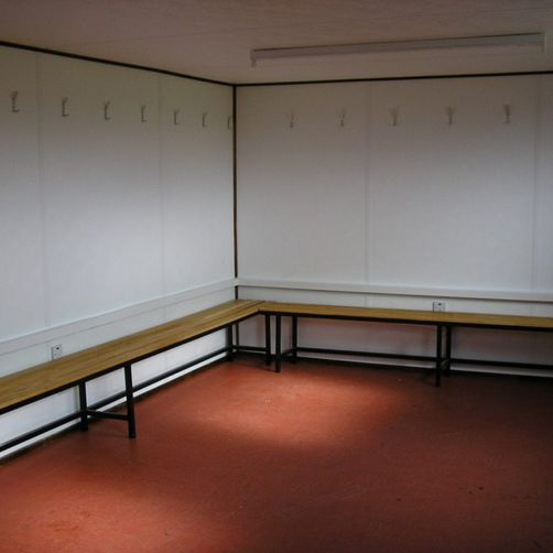 Fitted out Changing Room