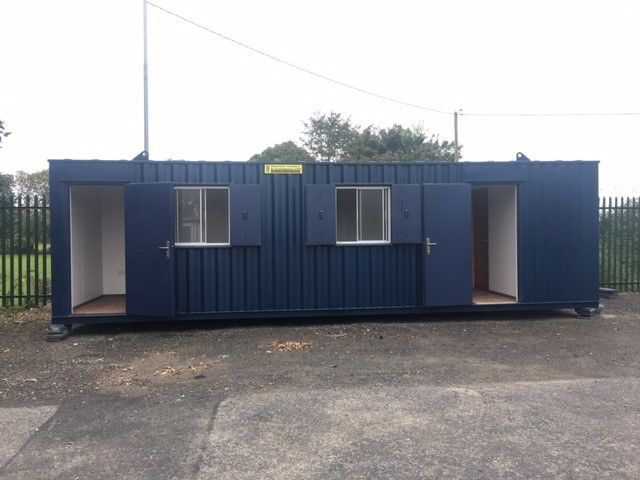 30ft x 8ft A.V Twin Office