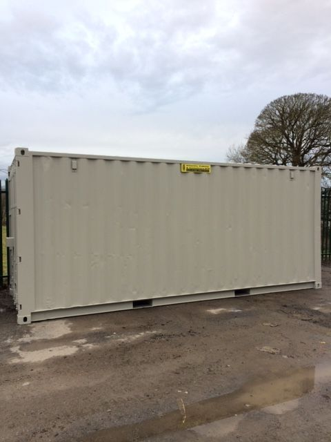 20ft S.H Storage - Goosewinf Grey